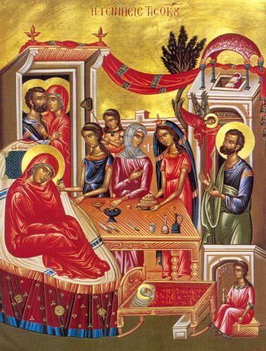 Αποτέλεσμα εικόνας για το γενεσιον της θεοτοκου