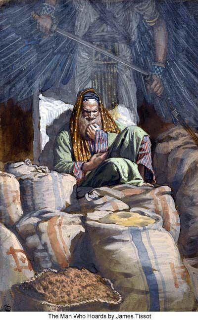 Αποτέλεσμα εικόνας για Κυριακή Θ΄ Λουκά (παραβολή του άφρονος πλουσίου)